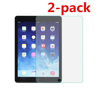 2-pack Premium 9H HD Tempered Glass Screen Protector For iPad 2 3 4 Pro 9.7 CQ1