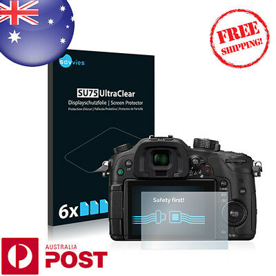 6x HD UltraClear Screen Protector for Panasonic Lumix DMC-GH4 - P001BF