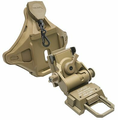 Wilcox G24 Mount w/Hybrid Shroud, Tan, 56100G41-T Night Vision Accessory