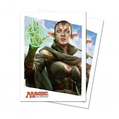 MTG Magic the Gathering Sleeves - Oath of the Gatewatch -Nissa (80 sleeves)