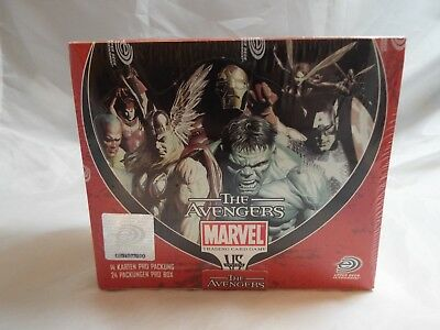 Vs System German Avengers Complete Sealed Box Of 24 Booster Packs