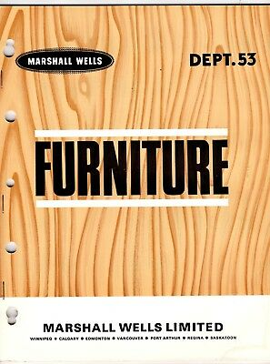 Marshall Wells Furniture Catalog From Store Master 1966 wolc6