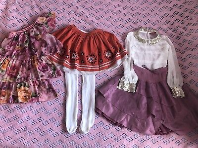 beautiful girls outfit bundle size 7-8 years skirts, top