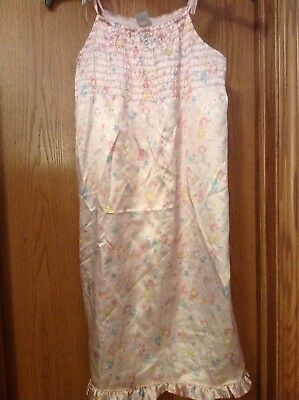 Sweet And Silky Mermaid And Seahorse Print Gown, Gymboree, Size 7, GUC