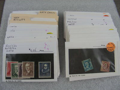 NETHERLANDS & COLONIES, Excellent Accumulation of Stamps in mostly G&K Cards