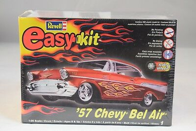 Revell Easy-Kit '57 Chevy Bel Air Kit Car *Sealed New* NR Free Ship .99 Start