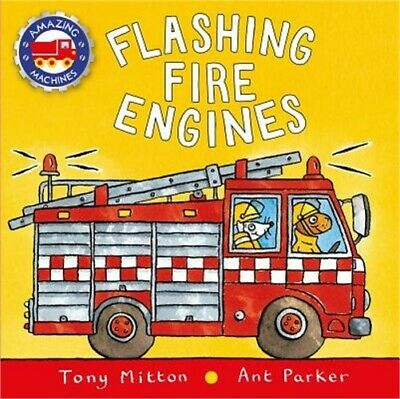 Flashing Fire Engines (Board Book)
