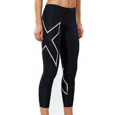 New 2XU Women Compression 7/8 Tights Lady Sports Gym Fitness All Sizes