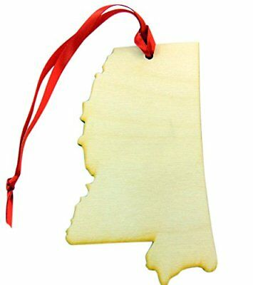 Westman Works State of Iowa Wooden Christmas Ornament Boxed Gift Handmade
