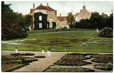Early Postcard . Maxwelton House . Thornhill . Scotland