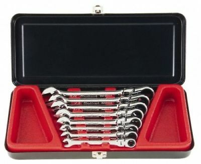 """8 Piece, 5/16 to 3/4"""" Flex Gear Combination Wrench Set Blackhawk™ by Proto® SAE"""