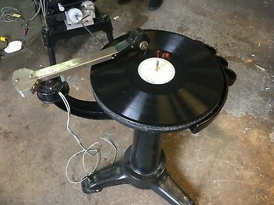 """Western Electric Universal 35mm Projector 16"""" Standalone Turntable"""