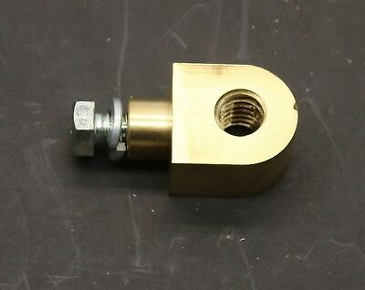 Brass Feed Nut for Drum Doktor, Barrett and Old FMC Brake Lathe