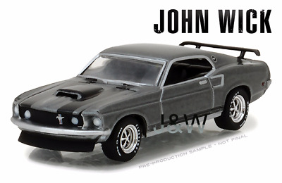 Collectible Novelty 1-1969-Ford-Mustang-Boss-429-Dollar-Bill-Fast Car D2