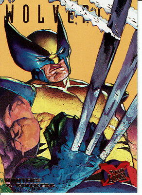X Men Fleer Ultra 95 Hunters & Stalkers Card 7 Of 9 Misprint Error Card