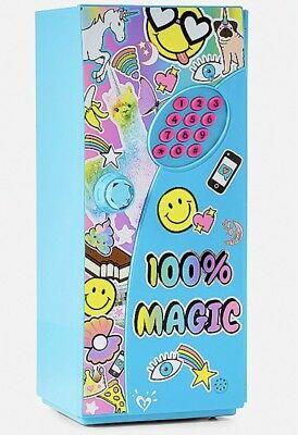 Justice Girl's 100% MAGIC Emoji Mini Locker New in Package