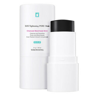 [TOSOWOONG] SOS Tightening PORE Clinic Charcoal Blackhead Stick 31g