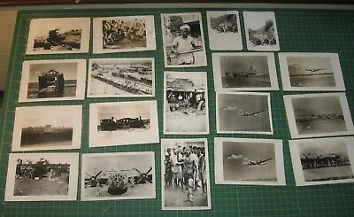 Ww2 Ii Photos Pictures Original India Japan B-29 Bomber Motorcycles Cemetery Nr