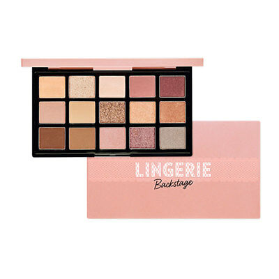 [Etude House] Play Color Eye Palette #Lingerie Backstage 1g * 15