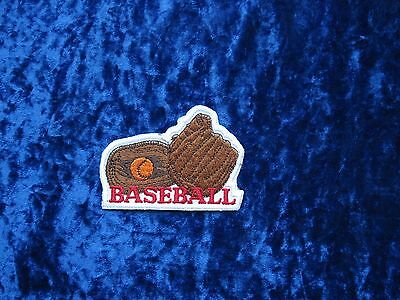 US American Baseball Aufnäher Sport Patch USA