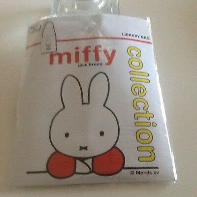 Miffy Dick Bruna Collection Library Bag Brand New