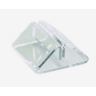 Tent Menu Holder - Clear Perspex - Bar / Restaurant Tabletop Signs