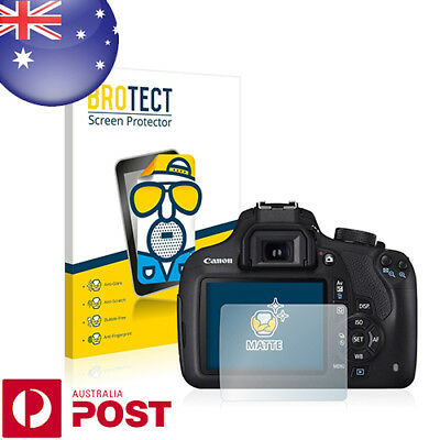 2 x BROTECT® Matte Screen Protector for Canon EOS 1200D - P003A