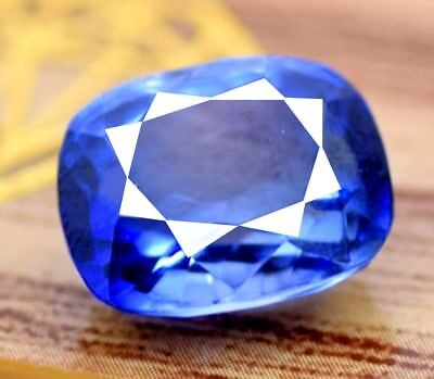 AAA+ Quality 9.10 Ct Natural Blue Ceylon Sapphire Certified Loose Gemstone