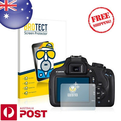 2 x BROTECT® Matte Screen Protector for Canon EOS 1200D - P003AF