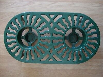 Victor Double Cast Iron Table Food Warmer Robert Welch Design Table Heater
