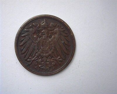 Germany 1890-J Pfennig  Choice About Uncirculated