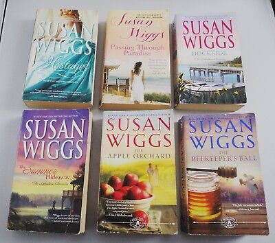 Lot Of 8 Susan Wiggs Paper Back Books-All In Very Good Condition