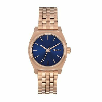 Nixon Medium Time Teller Femme Montre - Rose Gold Indigo Black Une Taille