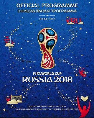 WORLD CUP 2018 RUSSIA - Official Tournament Programme