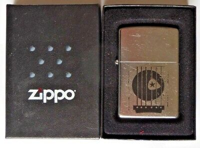 08 Guitar Pick Strings Zippo Cigarette Lighter