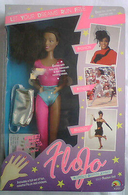 Orig.Puppe  Florence Griffith Joyner (USA) - 3 x Gold Olympia Seoul 1988 /in Box