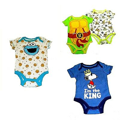 Snoopy Cutie Christmas Baby Boy//Girl Creeper One-Piece Bodysuit cute peanuts NEW