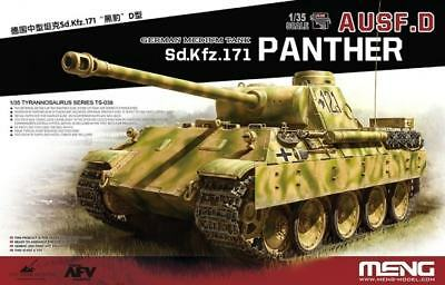 MENG MODEL TS-038 WWII German Medium Tank Sd.Kfz.171 Panther Ausf.D in 1:35
