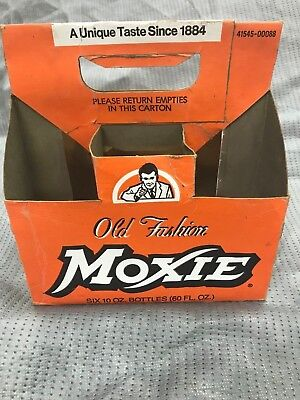 MoXie Cardboard Soda Container