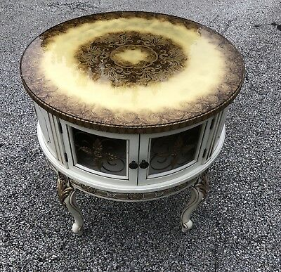 French Provincial/Hollywood Regency Style Lamp Table