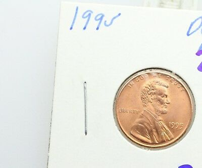 1995 Lincoln Memorial Penny Double Die