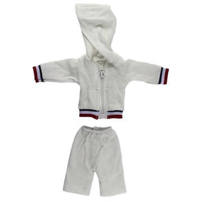 Dolls Sports Casual Wear Hooded Top Shorts Fit 14inch American Girl Dolls