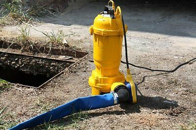 Pro Dirt and Water Pump, Submersible Pump With Chipper Cutting Mechanism XXL
