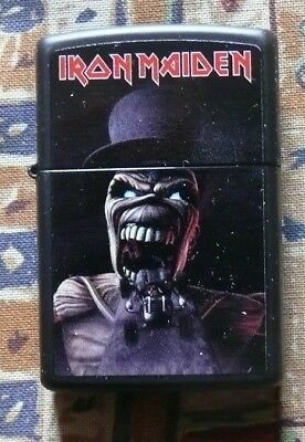 Music Iron Maiden Wildest Dreams Zippo Lighter Free Flints