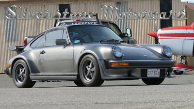 Porsche 930  1978 Metallic Silver Turbo 930 911 AC Sunroof 4 Speed Fast Fun Great Driver