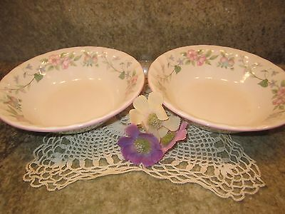 """Myott Meakin """"Spring Fields"""" Set of 2 Soup Cereal Bowl by Jenny Rhodes FREE SHIP"""