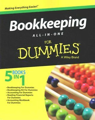 Bookkeeping All-In-One for Dummies by Consumer Dummies 9781119094210