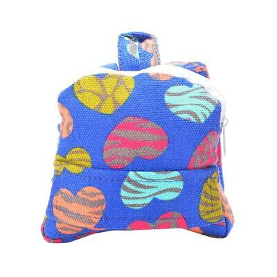 Mini Hearts Print Schoolbag Backpack Fit 18inch American Girl Doll Clothes