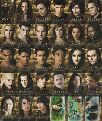 Neca Twilight Saga New Moon Update Set: Complete 84 Base Character & Story Cards