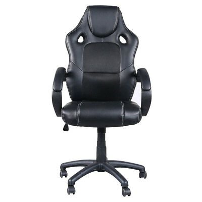 Executive Racing Style High Back Reclining Gaming Chair Office Computer Black